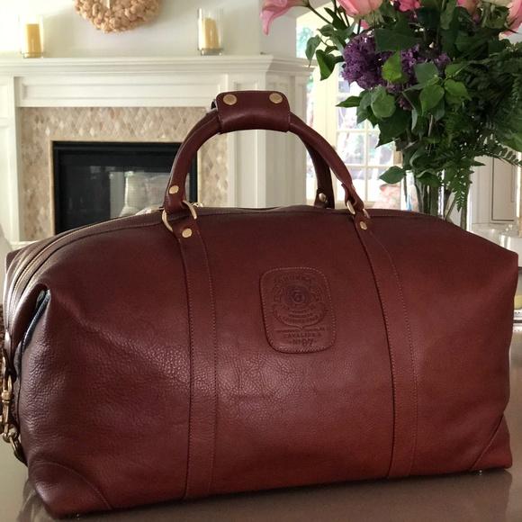 e8a08dd89 Ghurka Handbags - GHURKA CAVALIER II NO. 97 LEATHER DUFFEL BAG